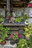 Bulgarisk borggårdträdgård Arkivbilder