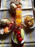 Bulgarisk frukost Arkivfoton