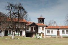 Bulgarisk kloster Arkivbilder