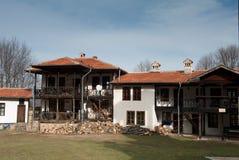 Bulgarisk kloster Arkivfoto