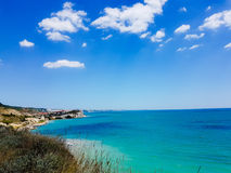 Bulgarisk kust och Black Sea arkivbilder