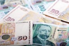 Bulgarisk valuta - BGN Arkivbild