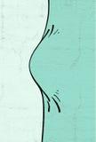 Bulge draw. Imaginative design of bulge draw Stock Image