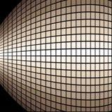 Bulged squares background Stock Image
