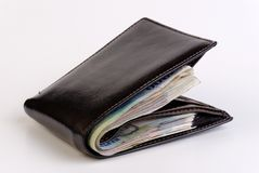 Bulging Wallet Royalty Free Stock Photos