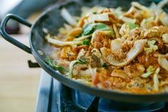 Bulgogi est un plat coréen qui se compose habituellement de la viande marinée grillée photographie stock libre de droits