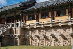 Bulgoksa -韩国的寺庙 库存照片