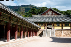 Bulgoksa-Tempel - Korea Lizenzfreie Stockfotos
