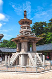 Bulguksa tempel Royaltyfria Foton