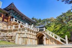 Bulguksa-Tempel Gyeongju Stockfotos