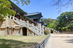 Bulguksa Temple Gyeongju Royalty Free Stock Image