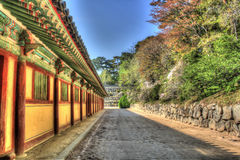 Bulguksa Temple Gyeongju Royalty Free Stock Images
