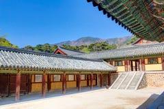 Bulguksatempel Gyeongju Stock Afbeelding
