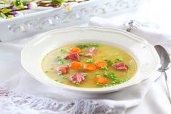 bulgur λαχανικό σούπας Στοκ Φωτογραφία