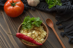 Bulgur Image stock