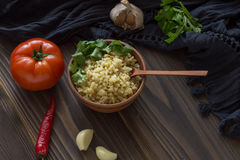 Bulgur Photographie stock
