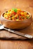 Bulgur avec des légumes Photographie stock