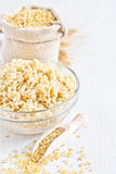 Bulgur background Stock Photography