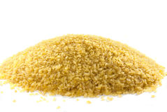 Bulgur (cracked wheat) stock photos