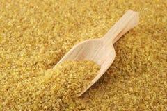 Bulgur (cracked wheat) Stock Photography
