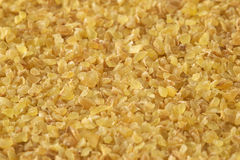 Bulgur (cracked wheat) Royalty Free Stock Photo