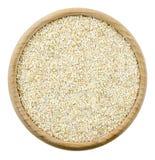 Bulgur cracked wheat isolated Stock Photography