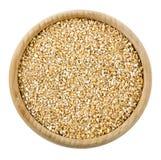 Bulgur cracked wheat isolated Stock Image