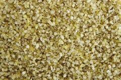 Bulgur cracked wheat backround royalty free stock images