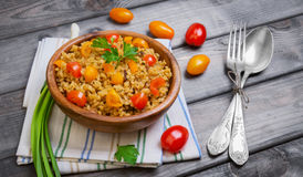 Bulgur food photo Stock Images