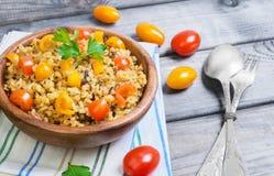 Bulgur  food photo Stock Photos
