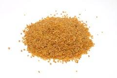 Bulgur grains pile isolated Royalty Free Stock Photo