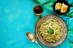 Bulgur with meat Stock Photos