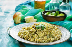 Bulgur with meat Royalty Free Stock Photo