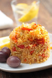 Bulgur pilaf Royalty Free Stock Image