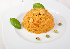 Bulgur pilaf Royalty Free Stock Images