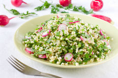 Bulgur salad Royalty Free Stock Image