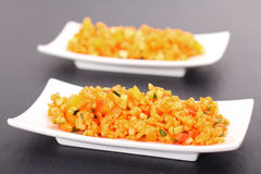 Bulgur salad Stock Photo