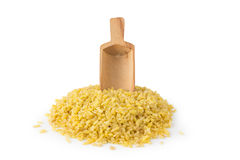 Bulgur With Scoop Royalty Free Stock Images