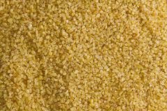 Bulgur seeds. In a cereal bowl royalty free stock images