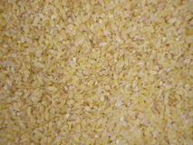 Bulgur weat in bulk Stock Image