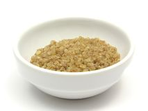 bulgur wheat groats royalty free stock photography