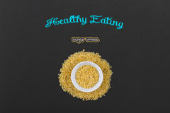 Bulgur Wheat Royalty Free Stock Photos