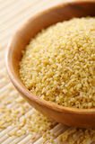 Bulgur wheat Royalty Free Stock Photo