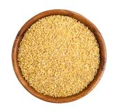 Bulgur wheat Stock Photo