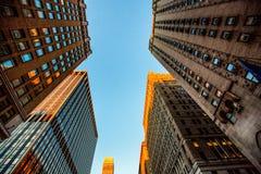 Bulidings van Manhattan Royalty-vrije Stock Afbeeldingen