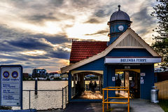 Bulimba Ferry Terminal Royalty Free Stock Images