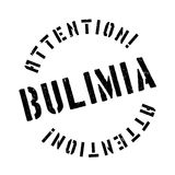 Bulimia rubber stamp Royalty Free Stock Photo