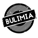 Bulimia rubber stamp Stock Photos