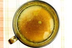 Buljong buljong, klar soppa royaltyfri foto