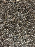 Bulk black tea. Its can be used in the food and health industries, catering, cooking, cookery, restaurant, cafe etc.. for stylish presentation . Texture Royalty Free Stock Photo